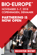 Picture EBD Group BIO-Europe 2018 Copenhagen Denmark Partnering Open 560x80px